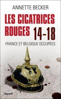Annette Becker, Les Cicatrices rouges, Fayard