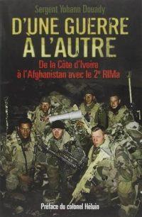 Yohann Douady, D'une guerre à l'autre, Éditions Nimrod